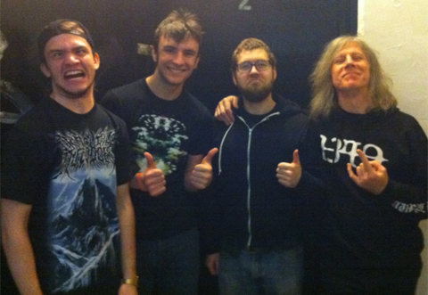 Vomit Fist with Dave Davidson of Revocation
